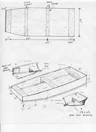Free Wood Boat Plans by Free Punt Plans Krypa Weidling Boat Pinterest Boating