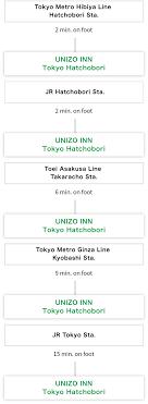 Near Ginza Sta 2min Access Unizo Inn Hatchobori