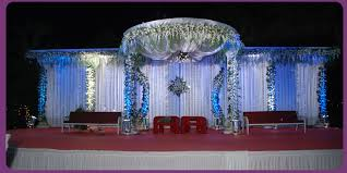 Wedding Planner Indian Reception Stage Decorations 14