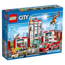 LEGO City Fire Station 60110 Building Set (919 Pieces) - Walmart.com
