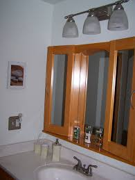 medicine cabinets with mirrors lights outlet for bathroom
