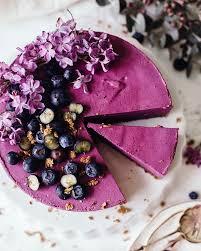 Cashew Coconut Blueberry Cheesecake