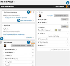Add Course Module Pages