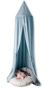 hayisugar betthimmel für kinder babys bett kuppel chiffon hängende moskiton für schlafzimmer kinderzimmer spielzelte deko blau