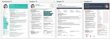 Resume Templates From Novo