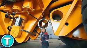 100 Dump Trucks Videos The Worlds Largest Truck Belaz 75710 Video Workmachines