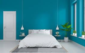 herunterladen hintergrundbild blau schlafzimmer modernen