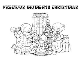 Christmas Coloring Pages Precious Moments 1