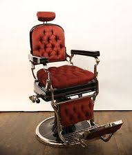 vintage barber chair ebay