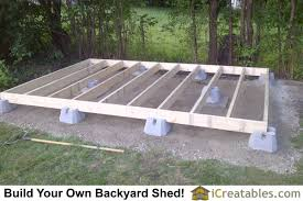Floor Joist Spacing Shed by Pictures Of Backyard Shed Plans Backyard Shed Photos