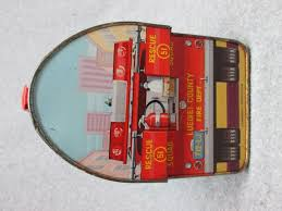 100 Fire Truck Lunch Box 1977 EMERGENCY Tv Show DOME LUNCHBOX C7 Fightertruck
