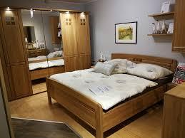 schlafzimmer topline 2120 in eiche teilmassiv lackiert mit