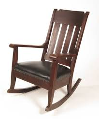 Vintage Banana Rocking Chair by Fresh Best Antique Oak Rocking Chair Leather Seat 23744