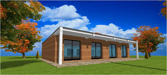 bac a avec toit toit une pente ou plat bac acier et bacacier maison ossature bois