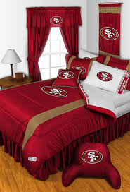 NFL San Fancisco 49ers Bedding And Room Decorations Modern Bedroom