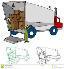 Moving Truck Company Stock Vector. Illustration Of Clipart - 20642042 Clipart Of A Grayscale Moving Van Or Big Right Truck Royalty Free Pickup At Getdrawingscom For Personal Use Drawing Trucks 74 New Cliparts Download Best On Were Images Download Car With Fniture Concept Moving Relocation Retro Design Best 15 Truck Stock Vector Illustration Auto Business 46018495 28586 Stock Vector And