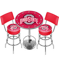 NCAA Ohio State University Game Room Combo 3 Piece Pub Table Set Hardwood Rocking Chair Ohio State Jumbo Slat Black Ncaa University Game Room Combo 3 Piece Pub Table Set The Best Made In Amish Chairs For Rawlings Buckeyes 3piece Tailgate Kit Products Smarter Faster Revolution Axios Shower Curtain 1 Each Michigan Spartans Trademark Global Logo 30 Padded Bar Stool