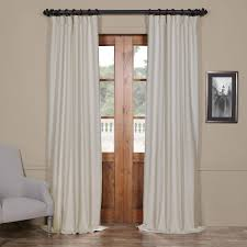 120 Inch Length Blackout Curtains by Bellino Cottage White 50 X 96 Inch Blackout Curtain Half Price