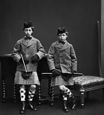 King Edward V11 Chair by Prince Eddy And His Brother Prince George Later King George V