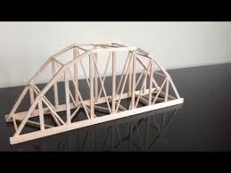 104 Bowstring Truss Design Balsa Wood Parker Model Bridge Construction Time Lapse Youtube