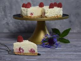 white chocolate cheesecake mit himbeeren soni cooking