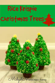 Rice Krispie Christmas Trees Are A Fun Treat You Kids Will Love It Is So