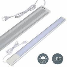 details zu led unterbauleuchte lichtleiste le küche unterbau beleuchtung 11w 230v edaygo