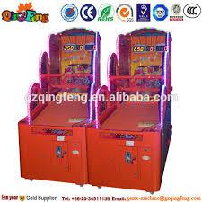 Qingfeng Dynamic Indoor Sport Street Basketball Arcade Game Machine Manufacturer