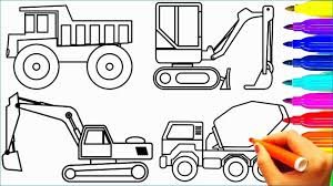 100 Construction Truck Coloring Pages Crane Cute Dump And Crane Colouring