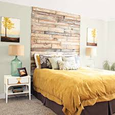 Find Out How To Build A Floating Headboard By Brian Hazzard Some 3M Command Strips And Easy Staining Work You Have It