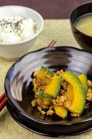 Japanese Pumpkin Recipe Roasted by Kabocha Pork Stir Fry U2022 Just One Cookbook