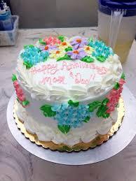 Publix cake with hydrangeas Sweets Pinterest