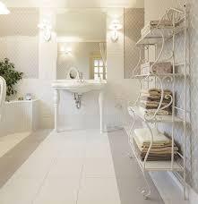 mediterranes weißes badezimmer ambiente mediterran