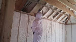 Insulating Cathedral Ceilings With Spray Foam by Spray Foam Insulation Cost Price Per Square Foot New York Nj