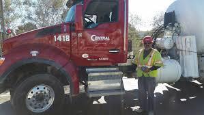 Frank Padilla W Truck | Central Concrete