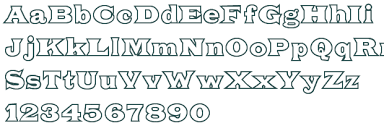 Free Outlined Font Download — Crafthubs