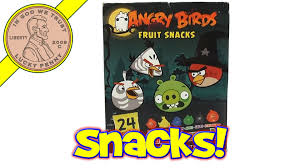 Top Halloween Candy Favorites by Angry Birds Halloween 2013 Fruit Snacks Usa Candy Favorites Youtube