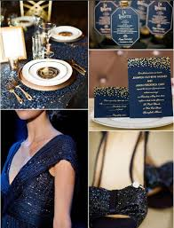 Invitation EWFI024 1 Royal Blue And Gold Wedding Ideas