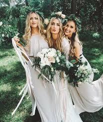 white lace boho bridesmaid dresses green weddings wedding shoes