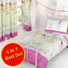character generic junior 4 in 1 toddler bedding bundle sets paw