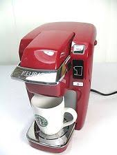 Item 1 Keurig K10 Mini Plus Single Serve K Cup Coffee Brewer RED