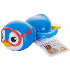 munchkin wind up swimming penguin blue walmart com
