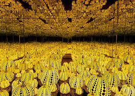Yayoi Kusama Pumpkin Sculpture by Yayoi Kusama Infinity Mirrors Smithsonian Institution