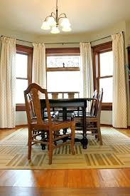Dining Room Area Rug Ideas Dinning Dashing Square Table Fit To