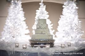Winter 4 Tier Wedding Cake At Bella Sera