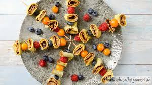fingerfood crêpe spießchen süß oder herzhaft