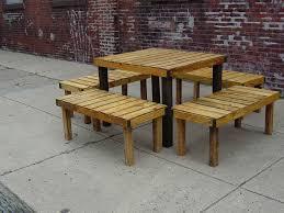 Wood Pallet Patio Furniture Designs
