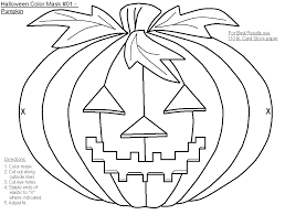 FREE Printable Halloween Masks To Color