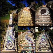 16th Avenue Tiled Steps Address by Golden Gate Heights Mosaic Stairway Yelp