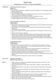 Master Electrician Resume Samples | Velvet Jobs Computer Science Resume 2019 Guide Examples Senior Scrum Master Samples Velvet Jobs Special Education Teacher Example Preschool Sample Monstercom And Full Writing 20 Biochemist For Masters Degree Seven Advantages Of Grad Katela Cover Letter Resume Home Health Aide Valid Or How To